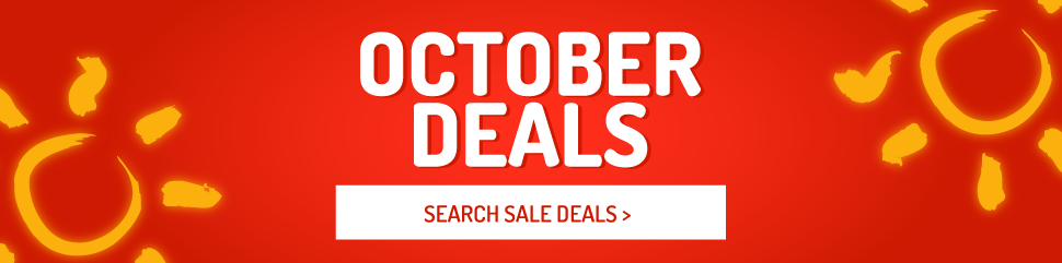 Holiday Deals in October
