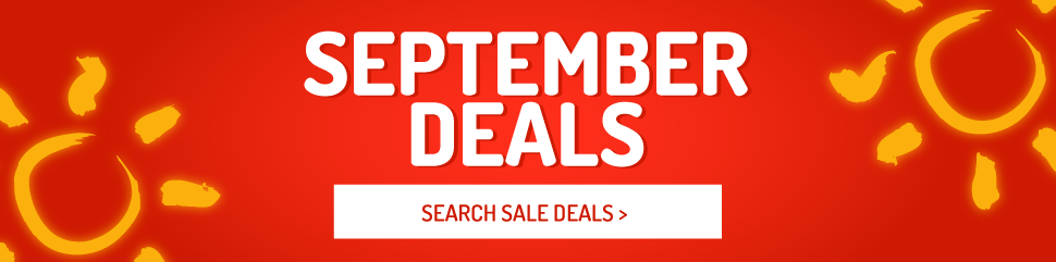 Holiday Deals in September